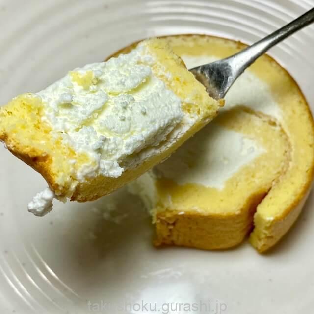 noshロールケーキカット