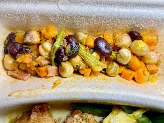 noshタンドリーチキン副菜